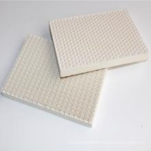 calentador de placa de cerámica de panal infrarrojo para quemador