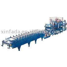 sandwich panel roll forming machine,compound panel roll froming machinery