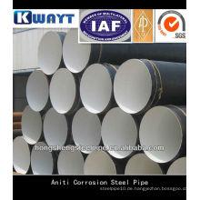 API 5L FBE Beschichtung Stahlrohre für Korrosionsschutz