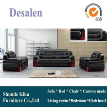 Office Sofa, Leather Sofa, Wooden Sofa (8118)