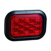 Waterproof Emark Rectangle LED Truck Stop Tail Lamps