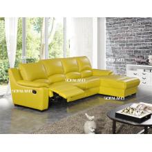 Juego moderno del sofá del cuero de los muebles de la sala de estar (421)