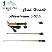 Nordic Walking Stick 7075 Trekking Poles Outdoor 65-135cm Telescopic Climbing Equipment Aluminum Hiking Stick