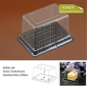 Plastic PVC Cake Packing Boxes