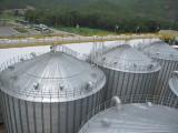Steel silo used for grain storage