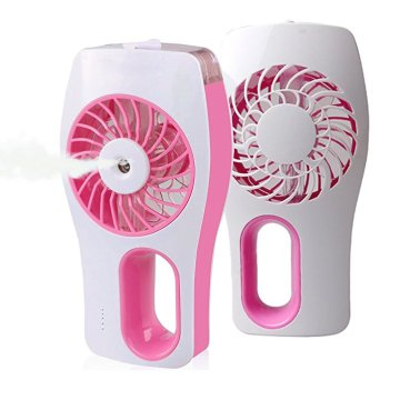 Rechargeable Battery Operated New Invention Mist Fan Mini