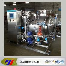 Esterilizador de agua completamente automático para esterilización para alimentos enlatados