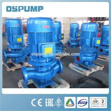 Pompe d'égout monobloc à canalisation verticale