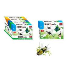 Ensemble de construction pour jouets pour DIY Insect World-Mosquito