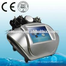 Bom preço! 5 em 1 Bipolar Tripolar RF pele apertando cavitação emagrecimento máquina