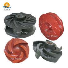 Corrosion resisting slurry pump impeller