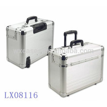 new design--strong&portable aluminum luggage wholesale manufacturer