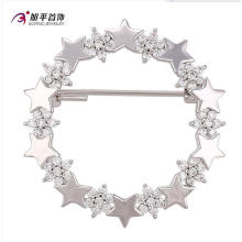 Xuping Fashion Elegant Rhodium Star Crystals From Swarovski Jewelry Element Brooch -00007