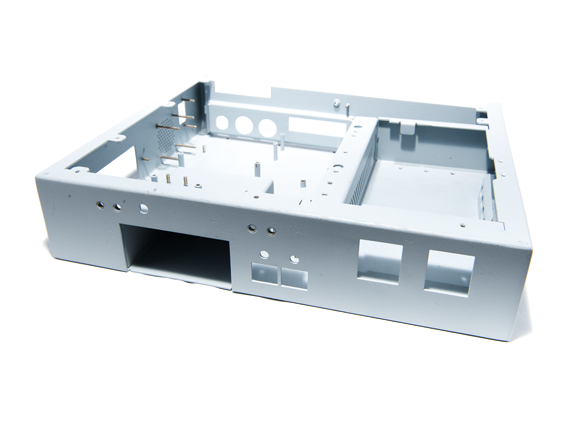 EMI shielding metal chassis