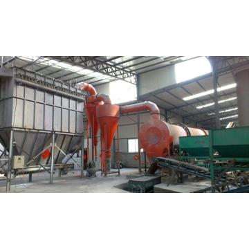 Dust recovery equipment for drying machine