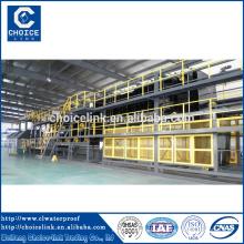 Filzmaschine Bitumen Membran Produktion Fabrik