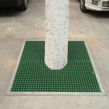 Galvanized Tree Cover Steel Grating