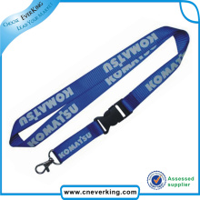Personalized Nylon Printed ID Card Lanyard with Egg Hook