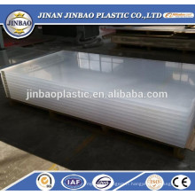 usine en gros résistant à la chaleur 20mm épaisseur feuille de plexiglass