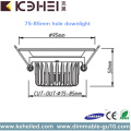 CE 220V LED Dimmable Downlights 5W SMD