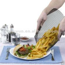 No-Stick & wiederverwendbare Teflon-Chips Kochkorb