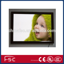Adjustable picture frame led magnetic light box with acrylic panel