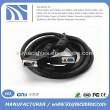 Mann zum weiblichen VGA-Kabel für Auto LCD Monitor PC Projektor und HDTV Kabel VGA 3M