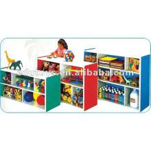 Prateleira para brinquedos para crianças