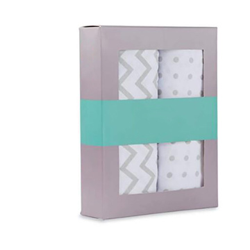 Hottest Contoured Changing Pad Cover Set for Baby