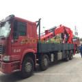 Ouco 100t Heavy Duty Semi-Knuckle Boom Jib Truck Mounted Crane