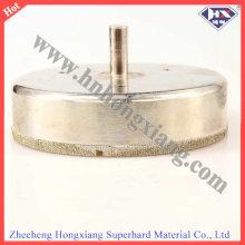 Высококачественное сверло с алмазным покрытием / // Гальванические насадки с сердечником
