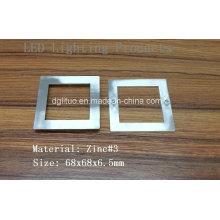 Cadre d'éclairage LED / Zinc Alloy Die Casting Products