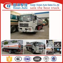 China fábrica DFAC 8000L camión cisterna, lng camión cisterna venta