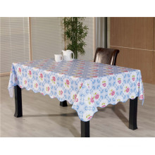 Novo Design de Vinil Material PVC Impresso Table Cover Nonwoven Backing Tablecover