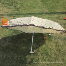Peu de coeurs 5-pliage parapluie (YSF5001B)