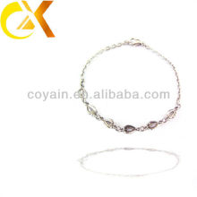 Acero inoxidable joyas accesorries encanto cadena enlace hermana amistad pulsera