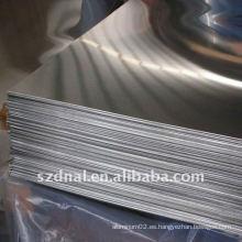 Hojas de aluminio 5052 H32 placas de aislamiento utilizadas en vehículos