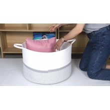 Factory made office desk storage basket function laundry baskets with direct sale price