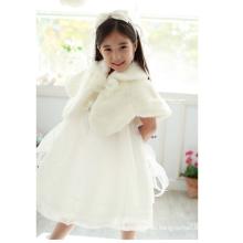 abrigos de invierno para niñas / fiesta vestido de novia abrigo / abrigo de piel