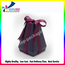 Elegant OEM Folding Parfum Boîte cadeau avec ruban