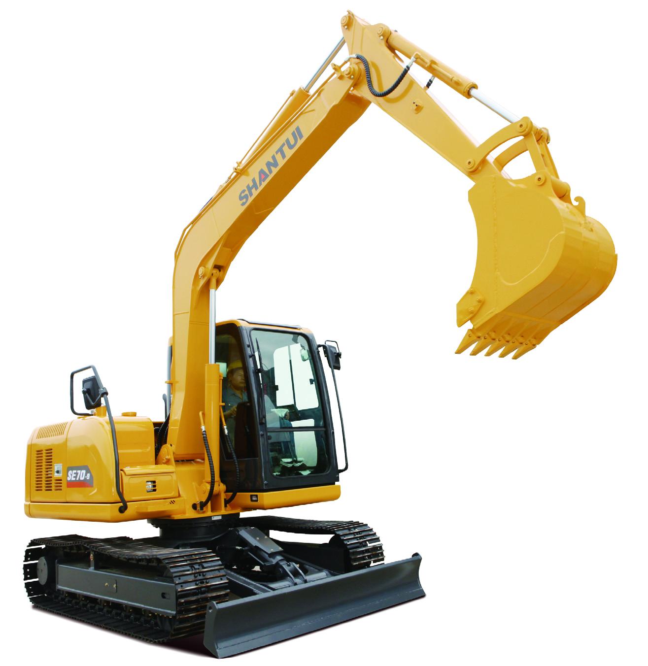Shantui Small 7.65ton Crawler Excavator