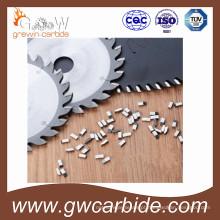 O corte de madeira do carboneto de tungstênio considerou as pontas Yg6 K10
