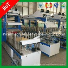 Máquina de embalaje de pegamento frío y caliente para la máquina de madera de la puerta de Hicas