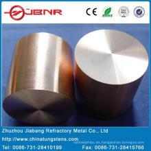 Wolfram W80cu20 de electrodo de cobre EDM con ISO 9000 de Zhuzhou Jiabang