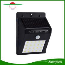 20 LED Solar Power PIR Motion Sensor Wall Light Outdoor Waterproof Garden Lamp