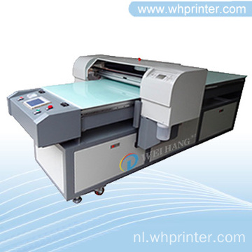 8-kleuren digitale Inkjet Flatbed lederen Printer