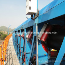 Tubular / Pipe Belt Conveyor Equipment for Paper Mill / Paper Plant