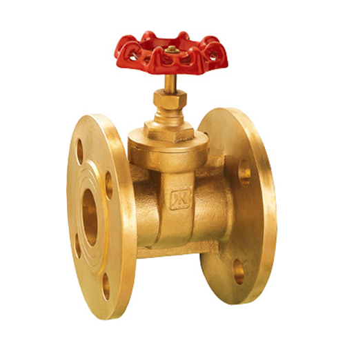 J1008 brass flanged gate valve
