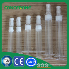 Prefilled Plastic Syringe with White Cap
