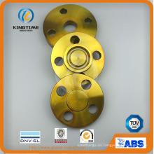 Brida ciega forjada A105 del acero de carbono de ANSI B16.5 con TUV (KT0399)